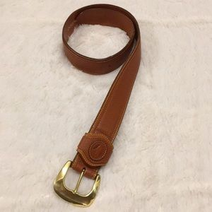 Dooney and Bourke Leather Womens Belt - Brown